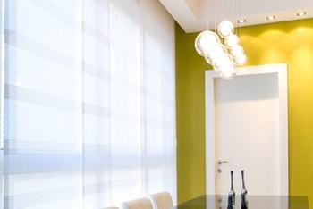 Bij Goelst kunt u diverse soorten gordijnrails bestellen, zo ook voor paneelgordijnen